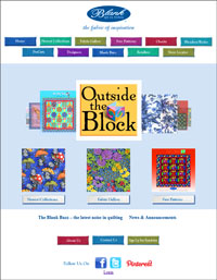 Blank Quilting Website